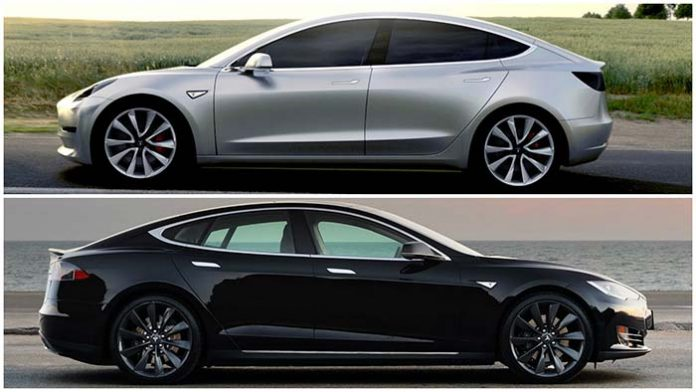 Tesla 'defiende' del Model S frente al Model 3