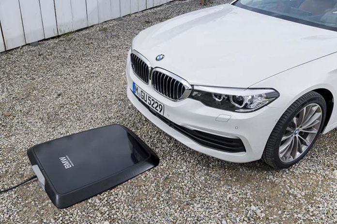 Carga inalámbrica en el BMW 530e iPerformance