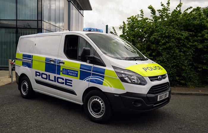 Ford Transit PHEV de la policía metropolitana de Londres