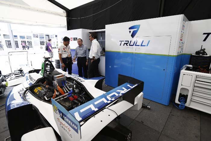 Generador de glicerina de la Fórmula E