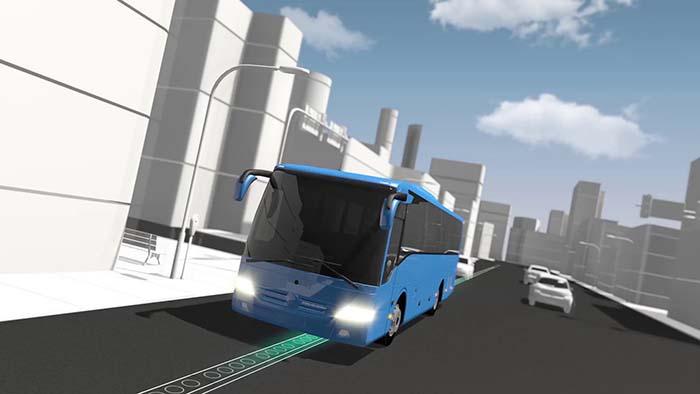 La recarga inalámbrica y dinámica tiene aplicación también en las ciudades