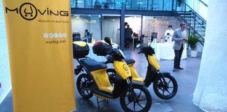 Se presenta el motosharing de Muving en Madrid con 135 motos