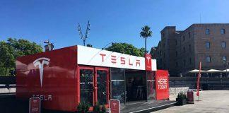 Tesla inaugura hoy su Pop-up store en Barcelona
