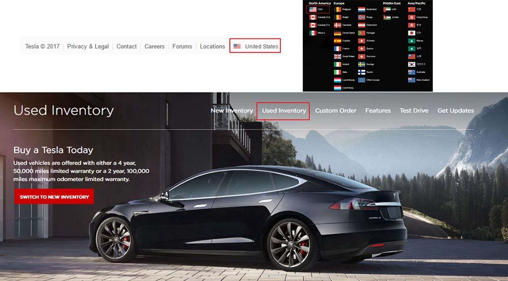 Acceso al programa de vehículos de segunda mano certificados por Tesla