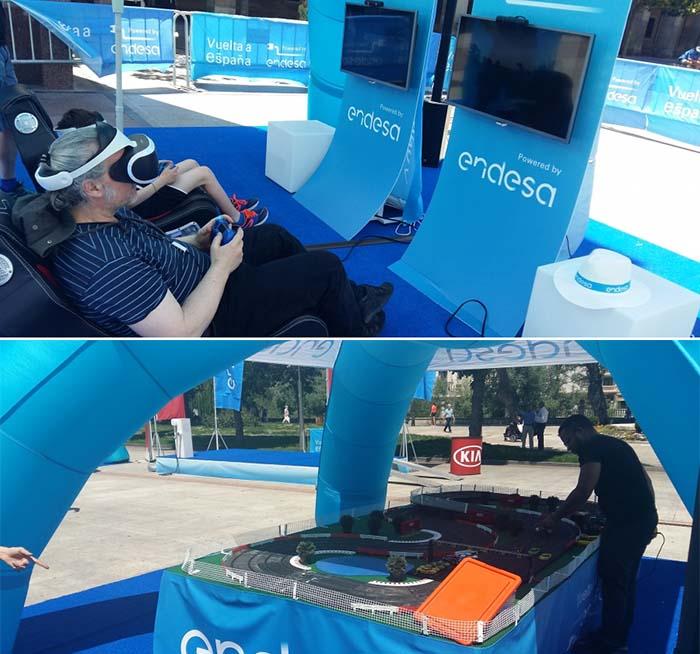 Actividades que acompañan a la I Vuelta a España en vehículo eléctrico de Endesa