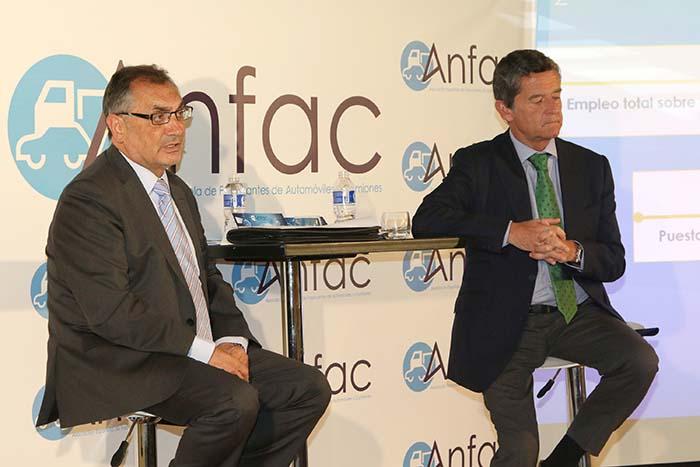 Antonio Cobo, Presidente de ANFAC, y Mario Armero, Vicepresidente Ejecutivo de la Asociación