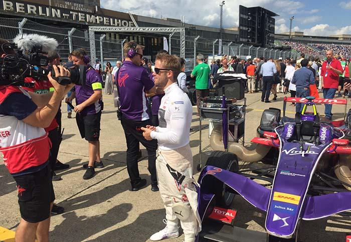 DS Virgin Race en la Fórmula E (ePrix de Berlín)