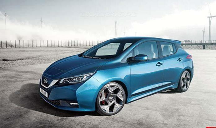 En nuevo Nissan Leaf imaginado por Carscoop