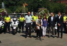 Inés Sabanés presenta la nueva flota Silence del cuerpo de Agentes de Movilidad de Madrid