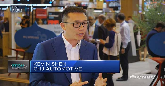Kevin Shen cofundador de CHJ Automotive