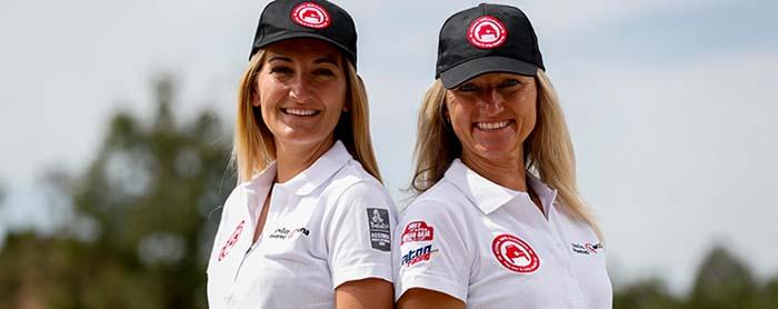 Los dos nuevos pilotos - Andrea Peterhansel y Emma Clair