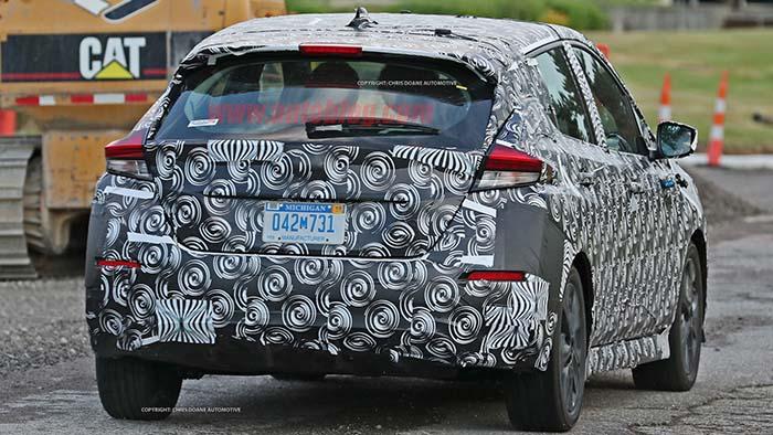 Nuevo Nissan Leaf-trasera