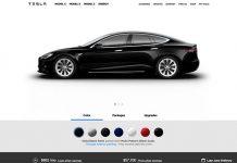 Nuevo configurador on line de Tesla