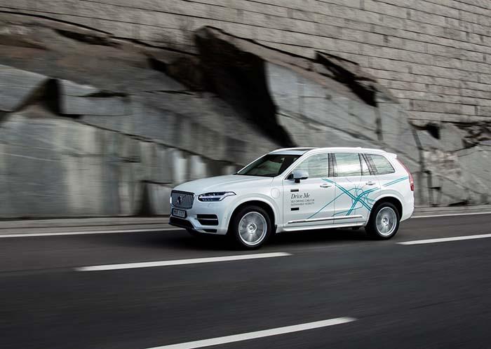 Prototipo Volvo autónomo