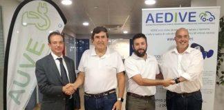 AEDIVE y AUVE firman un convenio de colaboración