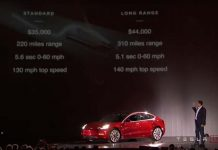 Elon Musk presenta las dos versiones del Tesla Model 3