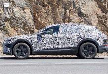 Imágenes espía del Audi e-tron quattro eléctrico