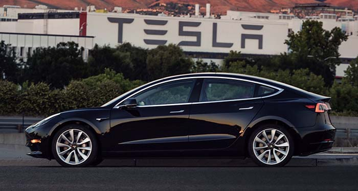 Tesla Model 3 #1, propiedad de Elon Musk