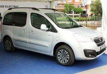 Ya a la venta el Peugeot Partner Tepee Electric