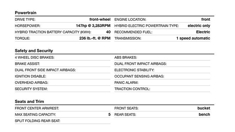 Características mecánicas del nuevo Nissan Leaf -CAPTURAS Autoblog-FUENTE Autobytel