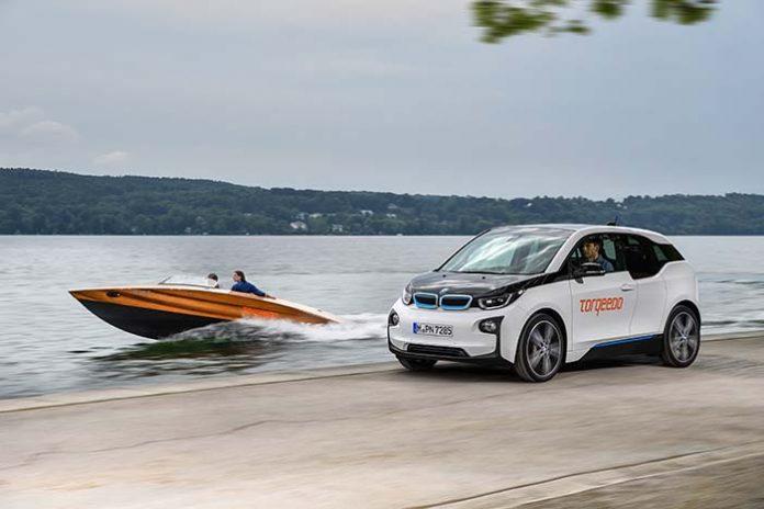 Deep Blue la batería del BMW i3 ahora también en el agua