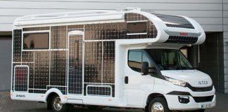 Dethleffs presenta una autocaravana eléctrica y solar