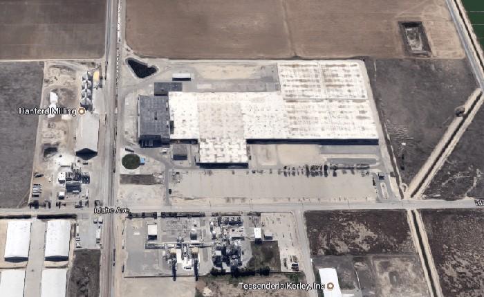 Estado actual de la fábrica de lonas de Hanford