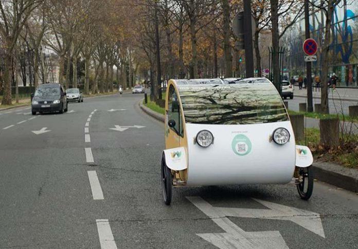 Evovelo Mö, una bicicleta para dos, eléctrica, solar y techada
