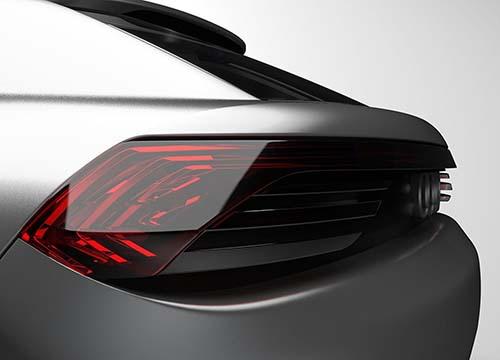Faros traseros del Audi Q4 e-tron concept
