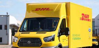 Ford y DHL muestran su nueva furgoneta eléctrica Work XL