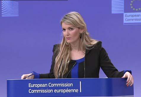Mina Andreeva, viceportavoz de la Comisión Europea