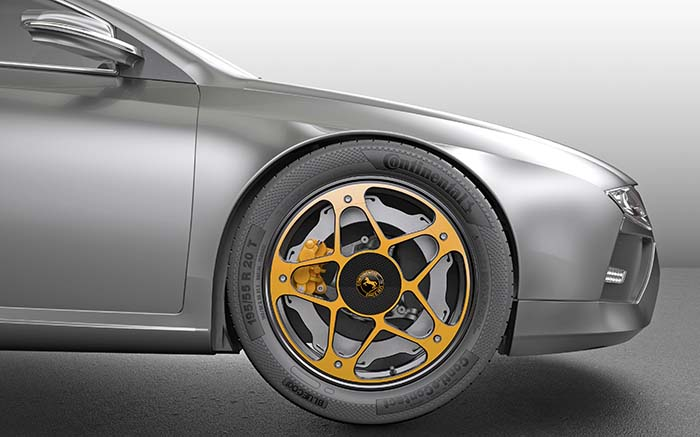 New Wheel de Continental