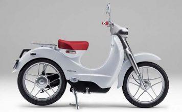Cuadro de instrumentos de la Honda EV-Cub