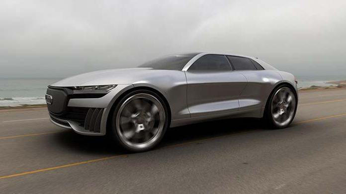 Render Audi Q4 e-tron concept