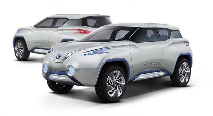 Render del Nissan Terra EV