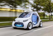 Smart ForTwo Vision EQ, eléctrico, autónomo y compartido