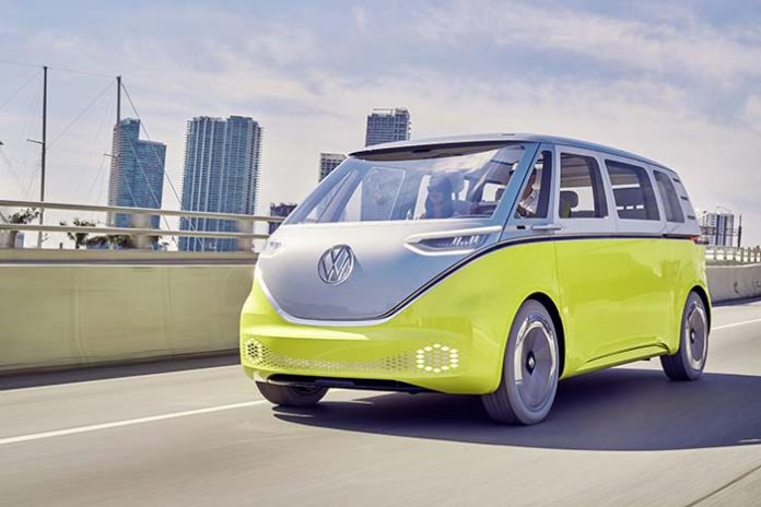 Volkswagen ID BUZZ, '2017 Concept Truck of the Year'