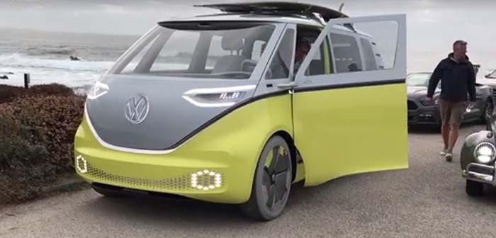 Volkswagen ID BUZZ en Pebble Beach, California - Vídeo David Benardo