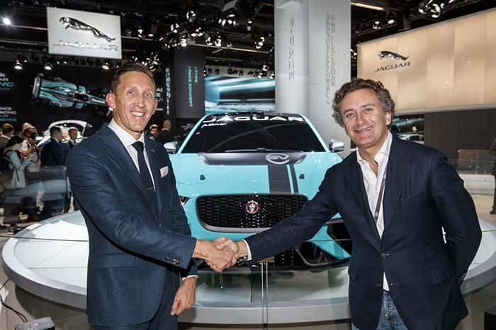 Acuerdo entre Jaguar y la Fórmula E - Foto Twitter @spinaetrophy