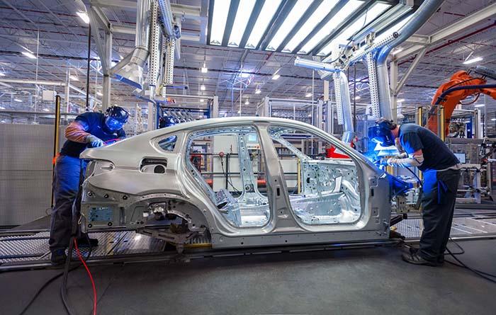 BMW X5 en la fábrica de Spartanburg