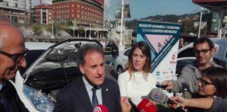Campaña de promoción de vehículos eléctricos para empresas y profesionales en Bilbao