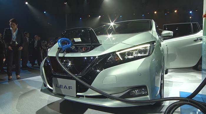 Carga rápida bajo estándar CHAdeMO para el nuevo Nissan Leaf