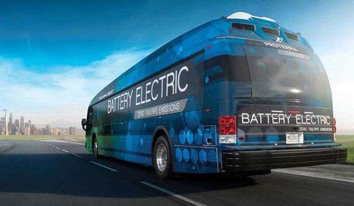 Catalyst E2, nueva batería de LG Chem y Proterra para vehículos pesados