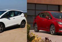 Comparativa Nissan Leaf 2018 VS Chevrolet Bolt-Opel Ampera-e