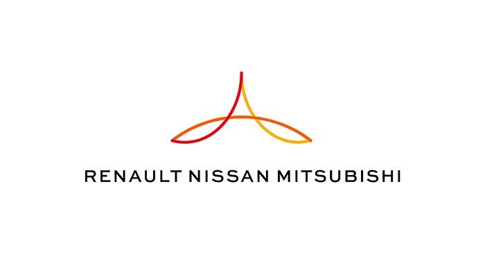 Con la presentación del plan estratégico ALLIANCE 2022 se lanzó en nuevo logotipo de la Alianza Renault-Nissan-Mitsubishi