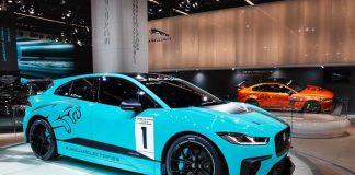 El Jaguar I-Pace eTrophy en Frankfurt - Foto Twitter @spinaetrophy