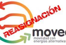 El Plan Movea reasigna 1,1 millones de euros vehículos eléctricos