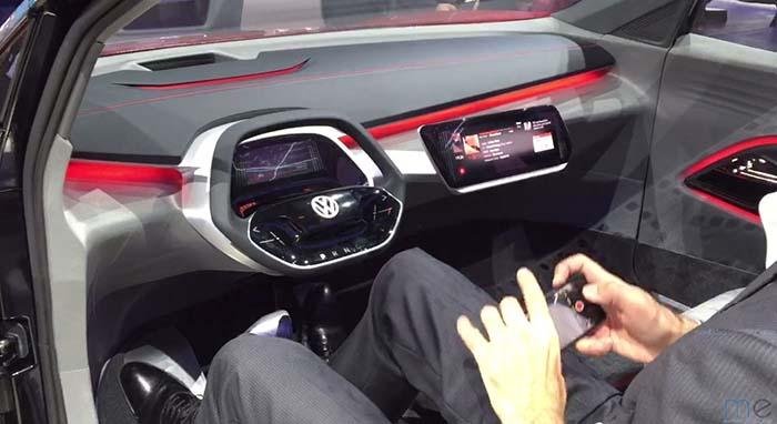 Interior Volkswagen I.D. Crozz