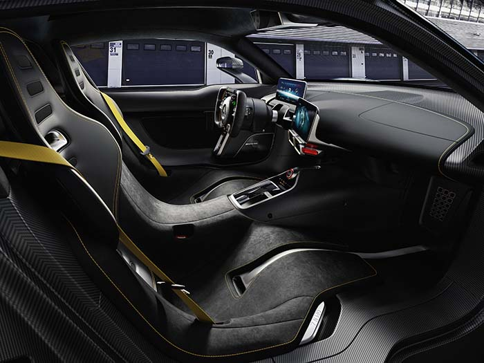 Interior del Mercedes-Benz AMG Project ONE