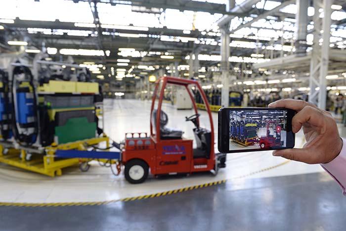La factoría conectada de Renault